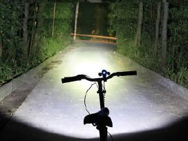 Ryskus Prozektorius ant dviracio T6 Xm-l 4000 Lium