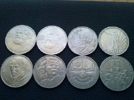 CCP rublių monetos