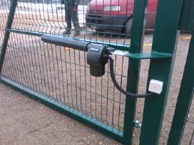 Kiemo ir garažo vartų automatikaremonto darbai