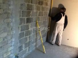 Tinkuojame sienas, lubas gipsiniais mišiniais