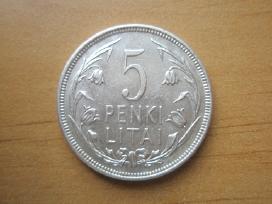 5 litai 1925m Tulpės