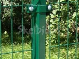 Tvoros montavimo darbai, segmentinė tvora