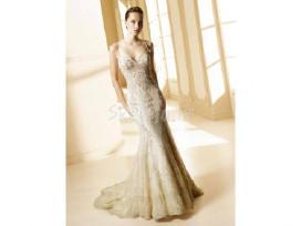 Elegantiška vestuvinė suknelė la sposa malva