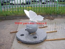 Paminklai Kaune, meniški paminklai, kapo danga