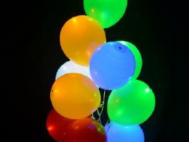 Helio balionai nuo 65 ct, Led balionai nuo 55 ct.