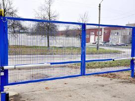 Kokybiškų kiemo vartų gamyba su garantijomis