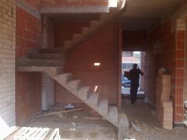 Laiptų betonavimas. Betoniniai laiptai.