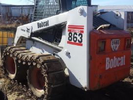 Bobcat betono maisykle ir mini ekskavatoriaus nuom