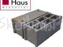 Haus-pamatų ir sienų blokeliai nuo 48 Eur