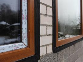 Plastikinai langai, Mediniai langai, Namo Durys