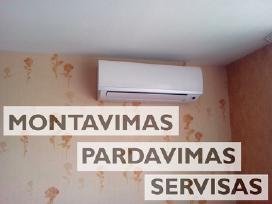 Oro kondicionieriai - Montavimas Pardavimas