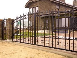 Stumdomų vartu, tvoru, gamyba ir montavimas