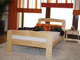 Nauja medinė lova 160x200 su čiužiniu tik 220eur