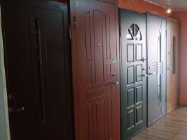 Metalika vidaus ir lauko durys
