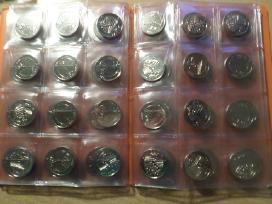 1 lito moneta, skirta Žalgirio mūšio 600-osioms me