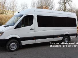 Mikroautobusų nuoma, keleivių pervežimas