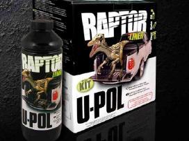 Tvirta U-pol apsauginė danga Raptor