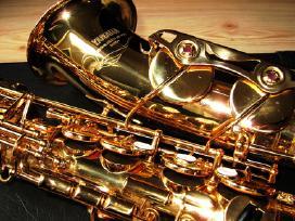 Saksofonas Yamaha 32 (yas-475) Naujos Pagalveles