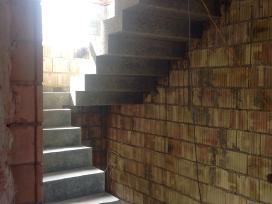Laiptu betonavimas. Betoniniai laiptai.