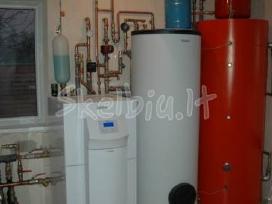 Gręžiniai vandeniui (arteziniai) ,geoterminiam