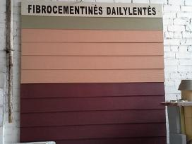 Fibrocementines fasado dailylentes apkala lenteles