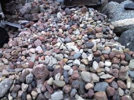 Akmenys žvirgždas žvyras smėlis