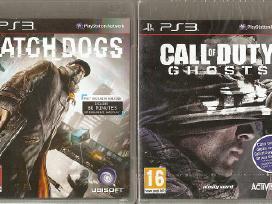 PS3 originalūs žaidimai 2011-15 m. nuo 6€ priedai