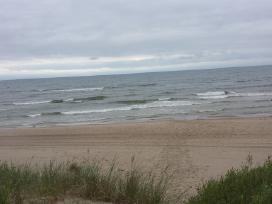 Isnuomojama sodyba ant juros kranto