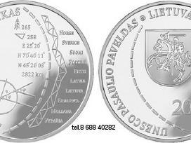 Lietuvos kolekcinės monetos(sidabras ir kt.)