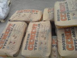 Vata polistirenas ,cementas svediskas 3.80eur