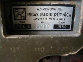Riga 6 - veikianti..zr. foto.. = 80,- €.