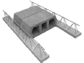 Perdanga Teriva betonas blokai blokeliai pamatu