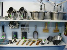 Įrankiai kepykloms ir virtuvėms