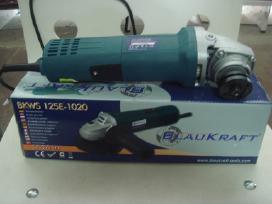 Kampinis šlifuoklis / Bulgarkė 125mm