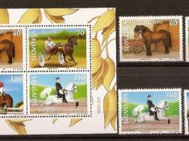 "Parduodu Slovenijos pašto ženklus tema ""fauna """
