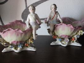Gražios statulėlės su herubinais