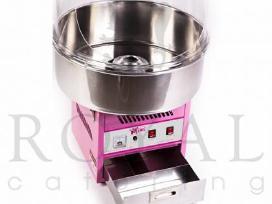 Cukraus vatos ir kukurūzų spragėsių gaminimo