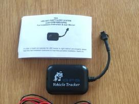 GPS seklys Tx-5 tracker, signalizacija