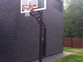 Krepšinio stovai, futbolo vartai, tinklinio stovai