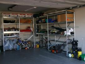 Stelažai namams ir garažui