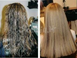 Braziliškos plaukų tiesinimo priemonės encanto
