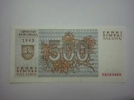 Talonai Vilkai 500
