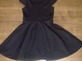 Nauja Skater juoda suknele