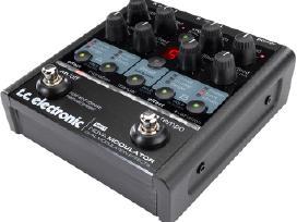 Tc electronic nova modulator pedalas gitarai