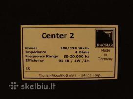 Centrinė kolonėlė Phonar Center2