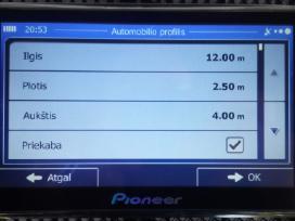 Nauja navigacija GPS Pioneer 7 coliu tik 80 eurai