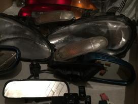 Mazda mx-3 priekiniai galiniai žibintai kitos dalys
