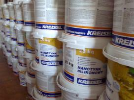 Fasadinės šiltinimo medžiagos, strukturinis tinkas