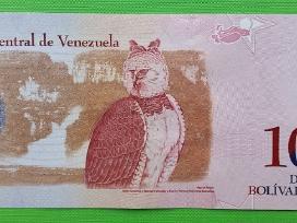 Venesuelos banknotas 10 bolivaru 2009 m. Unc