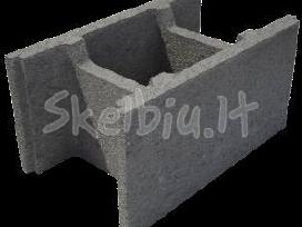 Pamatu blokai blokeliai Perdanga Teriva Betonas